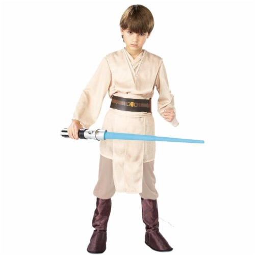 BuySeasons 283556 Star Wars Jedi Deluxe Child Costume, Extra Large 14-16 Perspective: front
