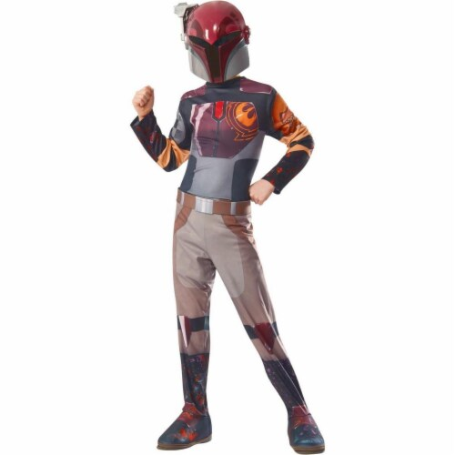 Rubies Costumes 284256 Star Wars Girls Sabine Costume Medium Perspective: front