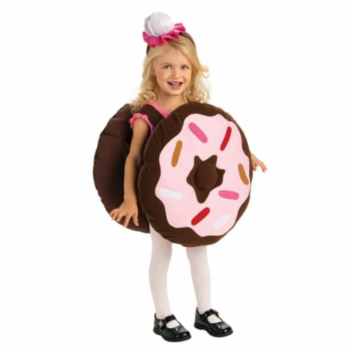 BuySeasons 286821 Toddler Dunk Your Doughnut Costume, 6-12 Months Perspective: front