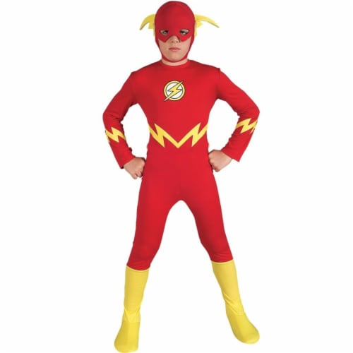 BuySeasons 283551 Justice League DC Comics the Flash Child Costume Perspective: front
