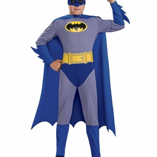 BuySeasons 283642 The Brave & the Bold Batman Toddler Costume Perspective: front