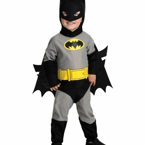 Rubies Costume 283555 Batman Toddler Costume, Small 4-6 Perspective: front