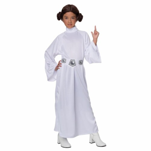 BuySeasons 283577 Star Wars Princess Leia Child Costume Perspective: front