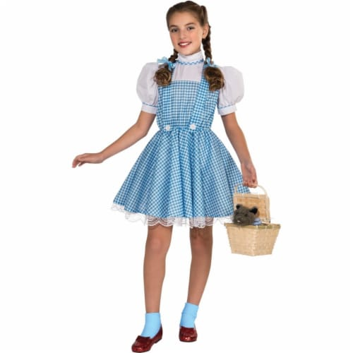 BuySeasons 283579 The Wizard of Oz Dorothy Deluxe Child Costume, Extra Large 14-16 Perspective: front