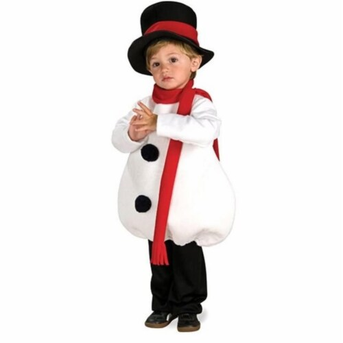 Rubies Costumes 275166 Toddler Baby Snowman Costume Perspective: front