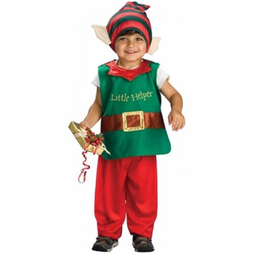 BuySeasons 402380 Toddler Lil Elf Costume Perspective: front