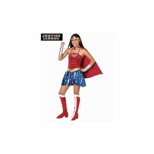 Rubies Costume Co 886023 Teen Wonder Woman Costume Perspective: front