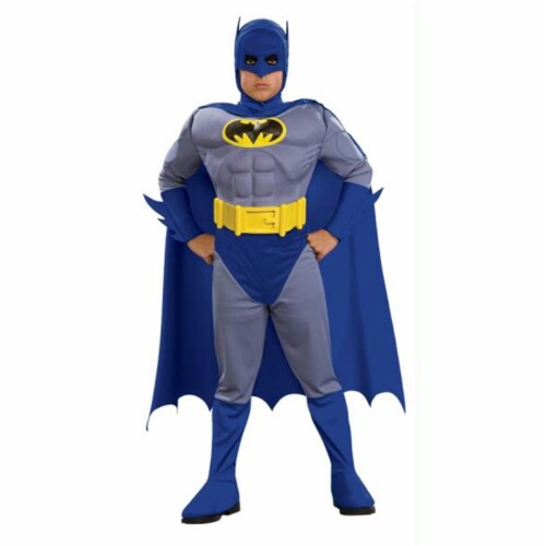 Costumes For All Occasions RU883482LG Batman Brave Muscle Child Lg Perspective: front