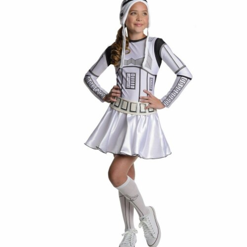 Rubies Costumes 284269 Star Wars Girls Storm Trooper Girl Costume Small Perspective: front