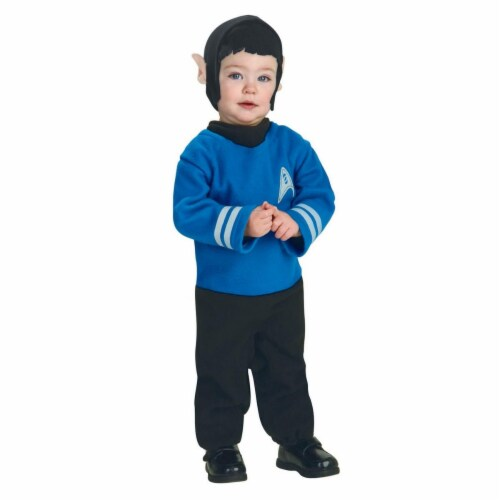 Rubies Costumes 284279 Star Trek Boys Spock Toddler Costume Size 2-4T Perspective: front