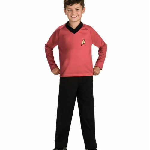 Rubies Costumes 284288 Star Trek Boys Scotty Costume, Small Perspective: front