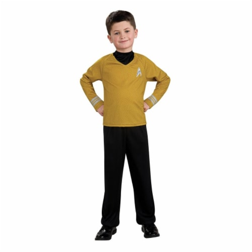 Rubies Costumes 284291 Star Trek Boys Captain Kirk Costume, Small Perspective: front