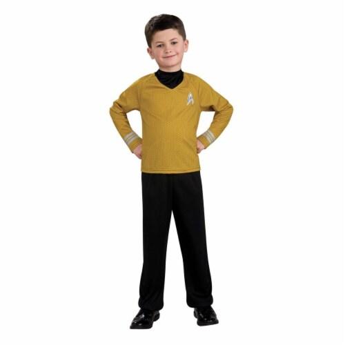 Rubies Costumes 284290 Star Trek Boys Captain Kirk Costume, Medium Perspective: front