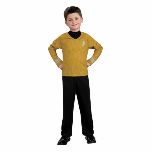 Rubies Costumes 284289 Star Trek Boys Captain Kirk Costume, Large Perspective: front