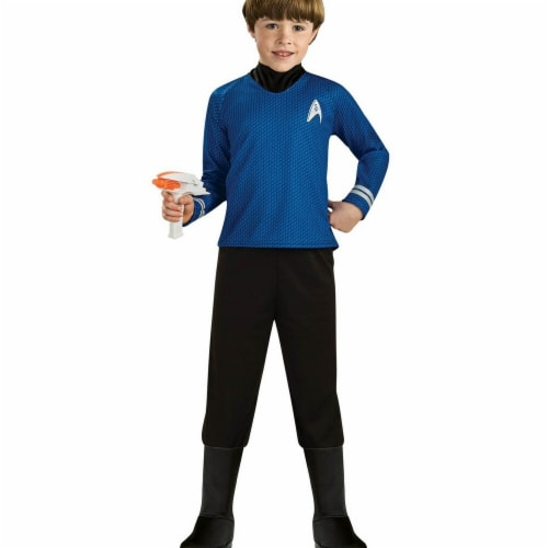 Rubies Costumes 284296 Star Trek Boys Deluxe Spock Costume, Small Perspective: front