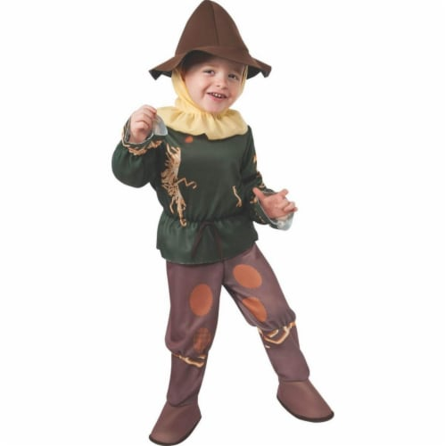 BuySeasons 286835 Wizard of Oz Classic Toddler Scarecrow Costume Perspective: front