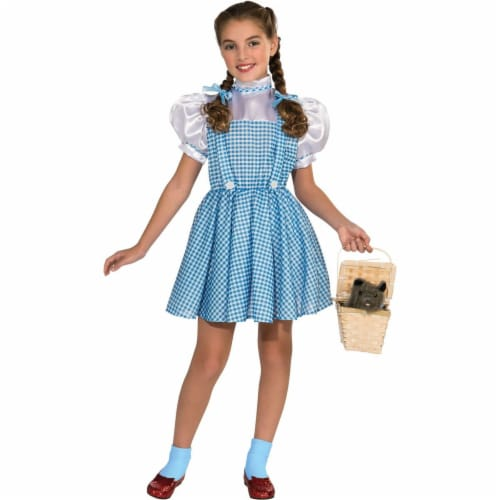 Rubies Costumes 274193 The Wizard of Oz Dorothy Child Costume, Small Perspective: front