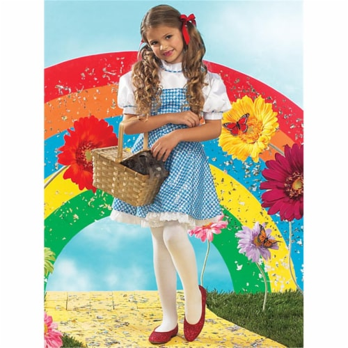 Rubies Costumes 155999 The Wizard of Oz Dorothy Child Costume Size: Small (4-6) Perspective: front