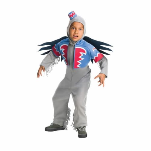 Rubies 406050 Wizard of oz Deluxe Winged Monkey Child Costume - Medium Perspective: front
