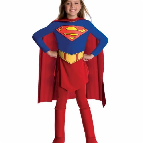 BuySeasons 283578 DC Comics Supergirl Toddler & Child Costume Perspective: front