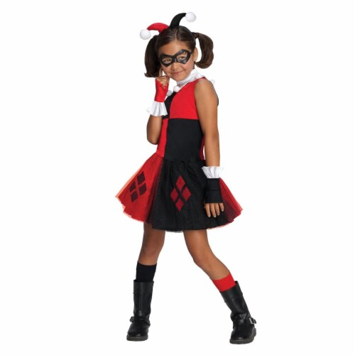 Rubies 274195 Harley Quinn Child Tutu Dress - Large Perspective: front