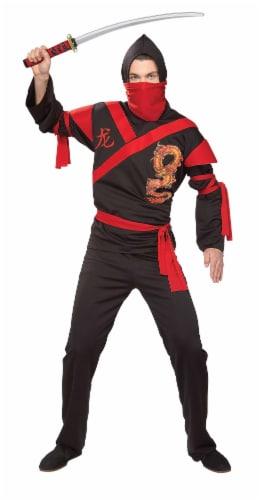 Rubie's Adult Dragon Ninja Warrior Costume Perspective: front