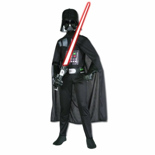 BuySeasons 283558 Star Wars Darth Vader Standard Child Costume, Extra Large 14-16 Perspective: front