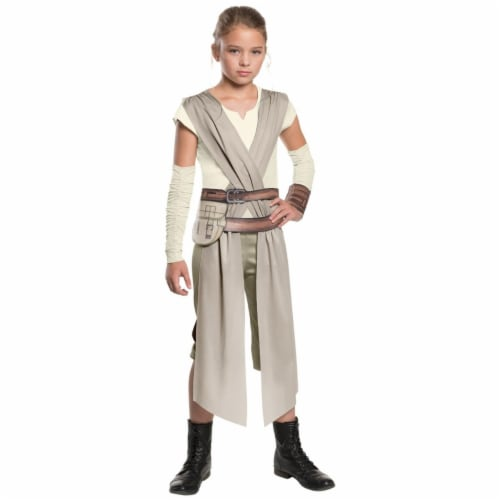 BuySeasons 283605 Star Wars Episode VII - Classic Rey Costume for Girls, Extra Large 14-16 Perspective: front