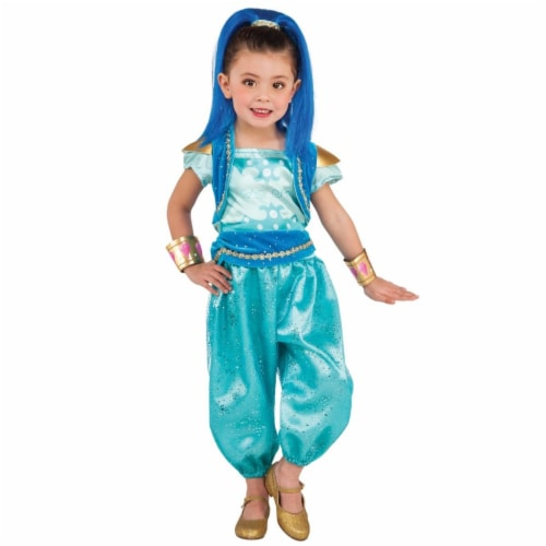 BuySeasons 283622 Shimmer & Shine - Shine Deluxe Toddler Costume Perspective: front