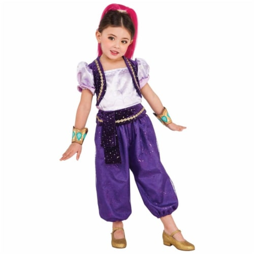 BuySeasons 283621 Shimmer & Shine - Shimmer Deluxe Toddler Costume Perspective: front