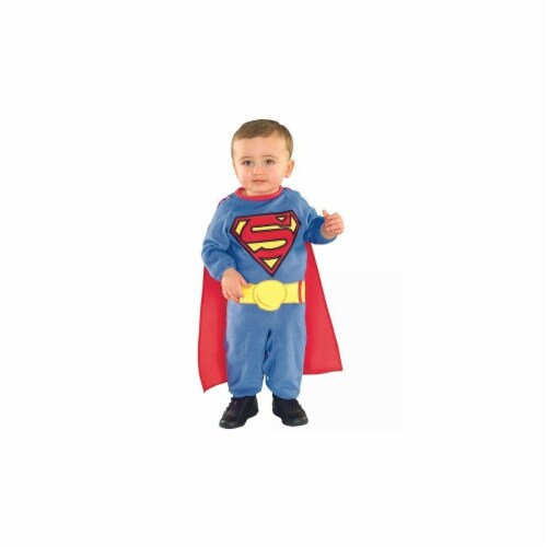 BuySeasons 283554 Superman Toddler Romper, Small Perspective: front