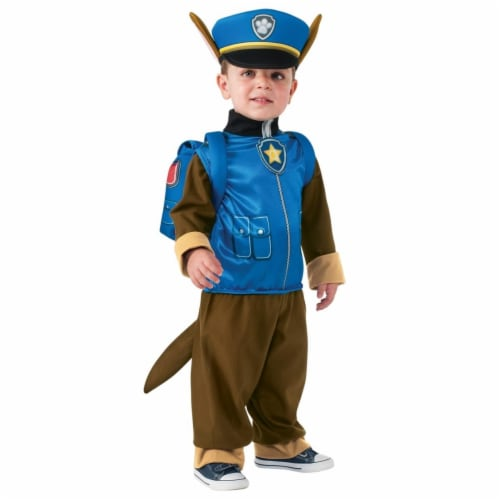 BuySeasons 283602 Paw Patrol - Chase Toddler & Child Costume Perspective: front