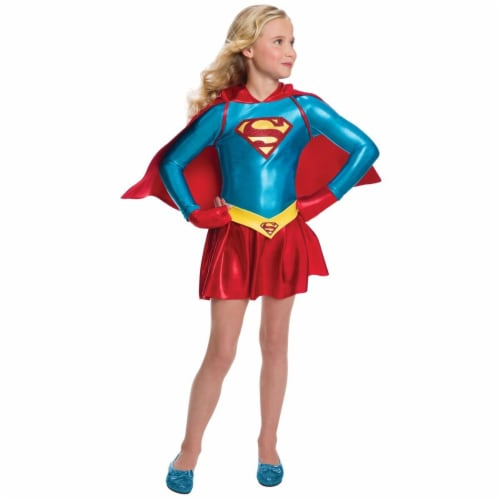 Rubies Costumes 274200 Supergirl Child Costume - Medium Perspective: front