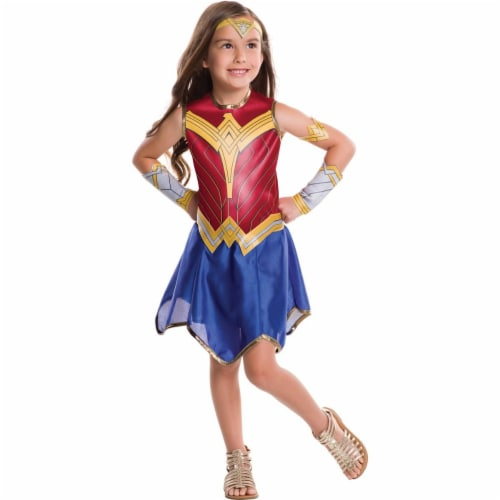 Rubies Costumes 274208 Wonder Woman Child Costume - Medium Perspective: front