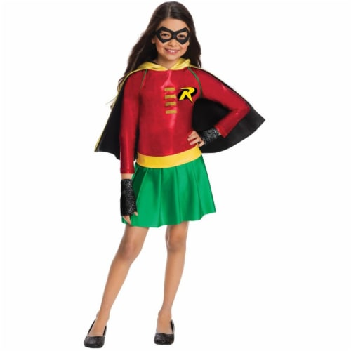 Rubies Costumes 274212 Robin Dress Child Costume - Medium Perspective: front
