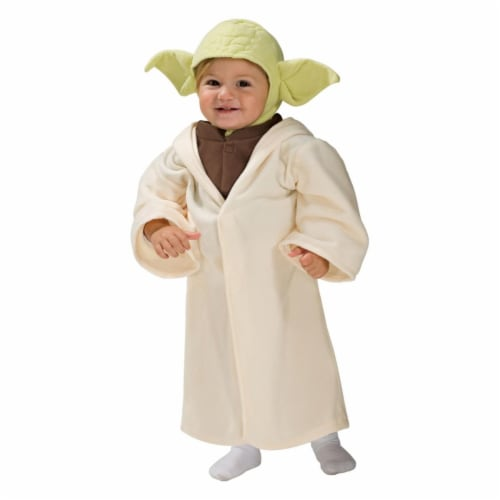 Rubies 406082 Star Wars Classic Yoda Child Costume - Infant Perspective: front