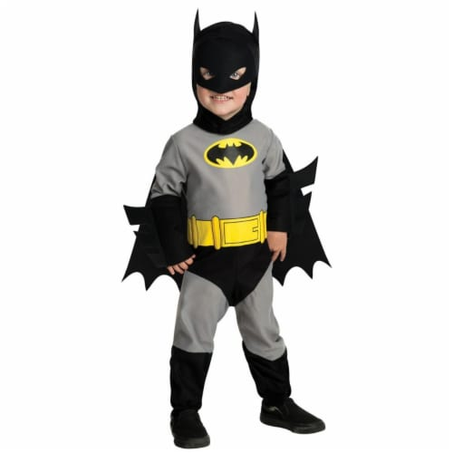 BuySeasons 286850 Batman Toddler Costume, 6-12 Months Perspective: front