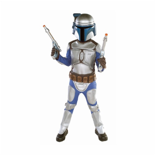Rubies Costume Co 10624 Star Wars Jango Fett Child Costume Size Large- Boys 12-14 Perspective: front
