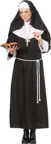 Rubie's Adult Standard Nun Costume Perspective: front
