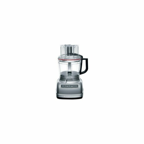 Kitchenaid KFP1133CU Stainless Steel Food Processor Perspective: front