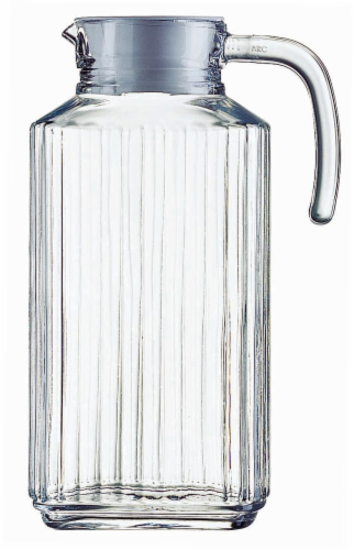 Dash of That™ Quadro Pitcher - Clear Perspective: front