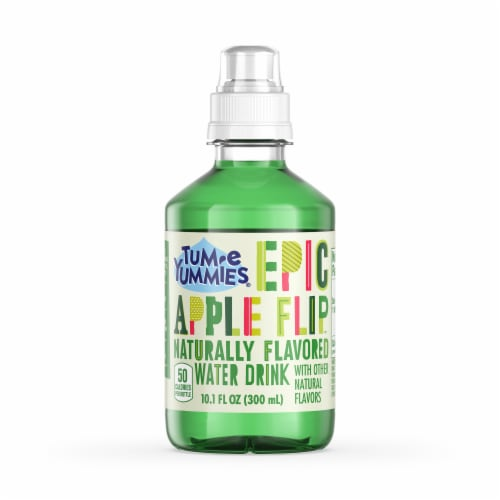 Tum-E Yummies Epic Apple Flip Naturally Flavored Water Drink Perspective: front