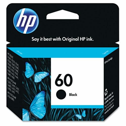 HP 60 Original Ink Cartridge - Black Perspective: front