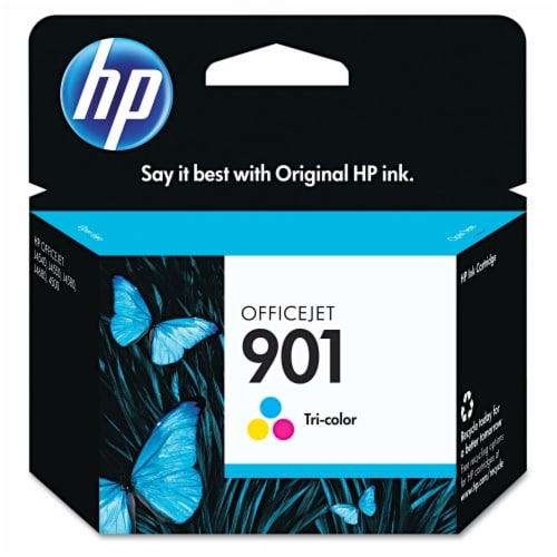 HP 901 Original Ink Cartridge - Tri-Color Perspective: front