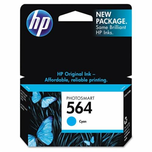 HP 564 Original Ink Cartridge - Cyan Perspective: front