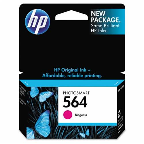 HP 564 Original Ink Cartridge - Magenta Perspective: front