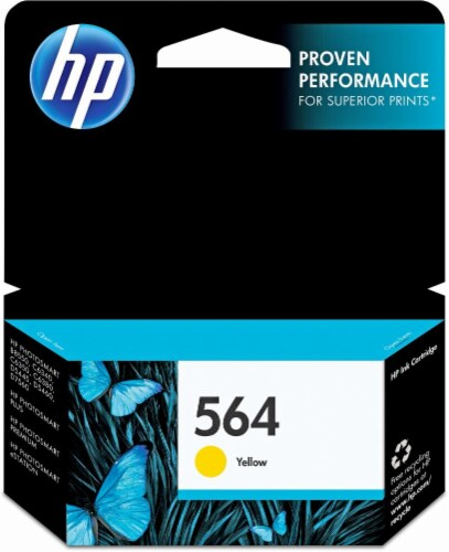 HP 564 Ink Cartridge - Yellow Perspective: front