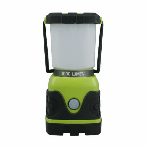 Tahoe Trails Camp Lantern - Green/Gray Perspective: front