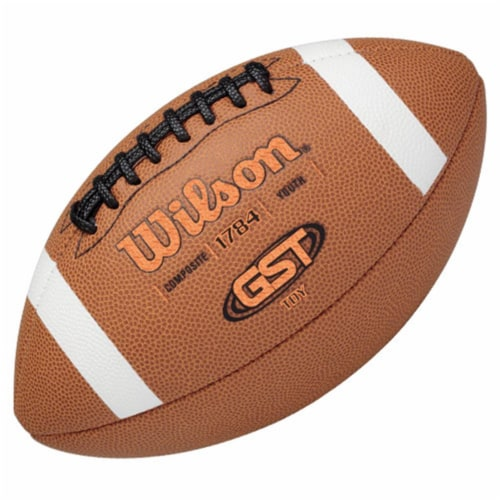 Wilson 1297294 GST Composite Football - TDY Perspective: front