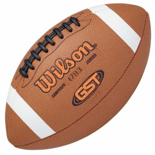 Wilson 1297300 GST Composite Football - TDJ Perspective: front